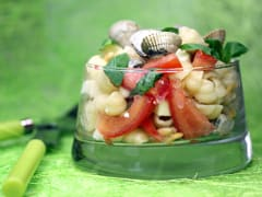 Pasta Salad with Cockles