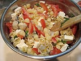 Pasta Salad with Cockles - 16