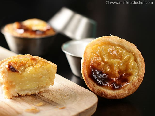 Pasteis De Nata Portuguese Custard Tarts Recipe With Images