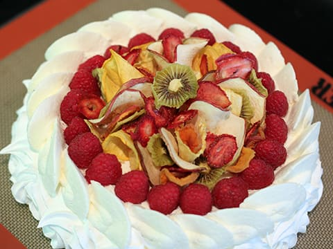 Pavlova with Dried Fruits - 59