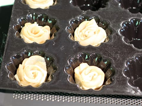 Puff Pastry Pear Roses - 23
