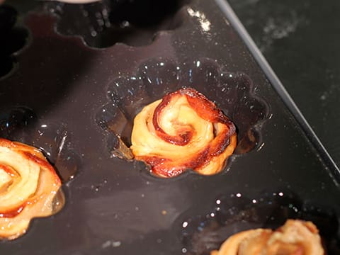 Puff Pastry Pear Roses - 25