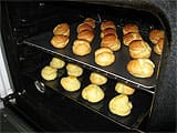 Piping and Baking Choux Buns - 7