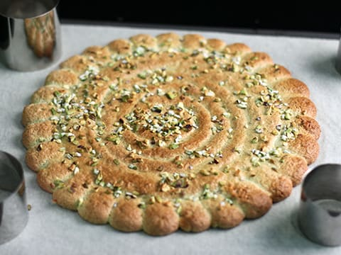 Pistachio Dacquoise with Strawberries - 24