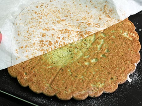 Pistachio Dacquoise with Strawberries - 69