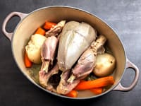 Poule au Pot (Poached Chicken)