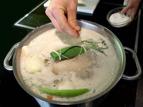 Poule au Pot (Poached Chicken) - 11