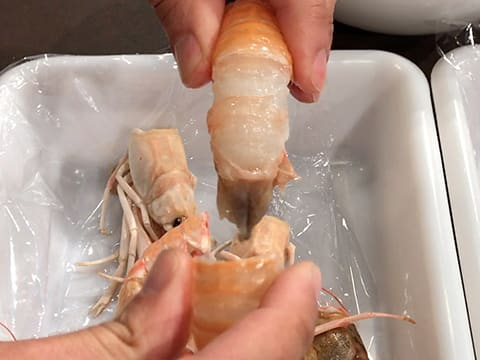 Potato Gnocchi & Pan-Seared Langoustine Tails - 32