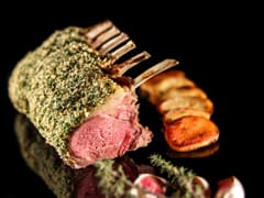 Rack of Lamb with Mustard & Parsley Crust