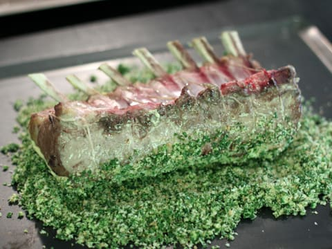 Rack of Lamb with Mustard & Parsley Crust - 14