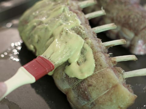 Rack of Lamb with Mustard & Parsley Crust - 7
