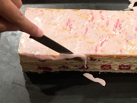Raspberry Millefeuille - 105