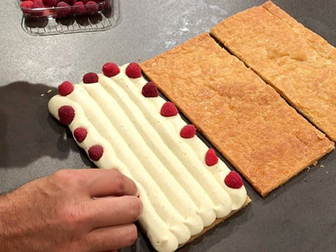 Raspberry Millefeuille - 79