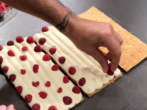 Raspberry Millefeuille - 81