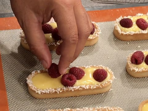 Raspberry & Passion Fruit Tartlets - 47