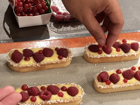 Raspberry & Passion Fruit Tartlets - 48