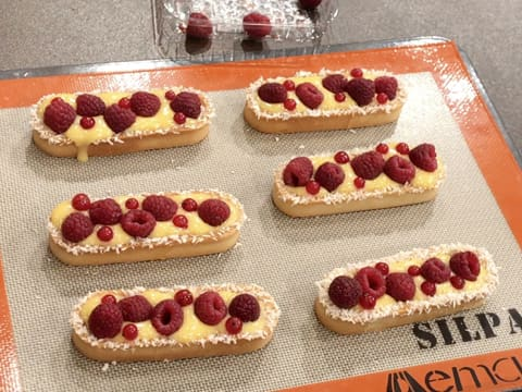 Raspberry & Passion Fruit Tartlets - 49