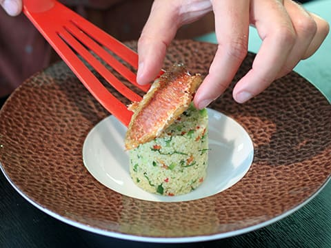 Red Mullet with Tabbouleh - 20