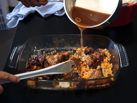 Roasted Lamb Shanks, Macaroni & Cheese Gratin - 47
