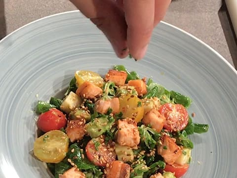 Salmon & Avocado Salad - 39