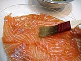 Salmon Carpaccio with Lime - 23