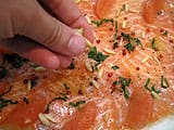 Salmon Carpaccio with Lime - 24