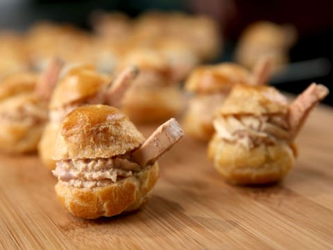 Choux Buns with Foie Gras Mousse - 21