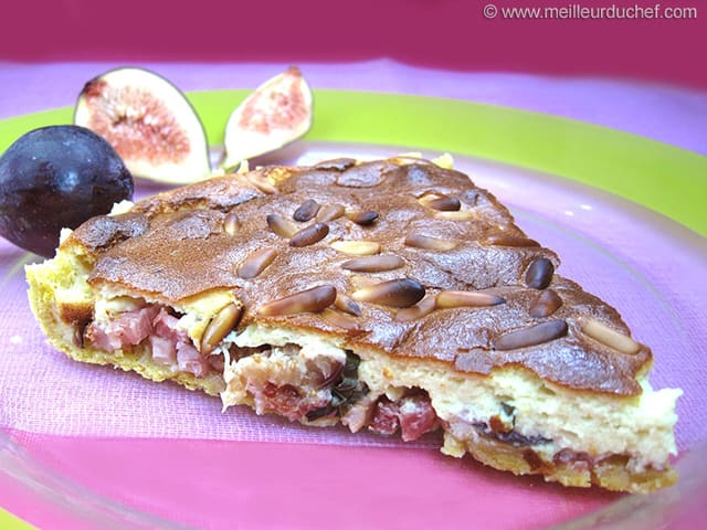 Fig & Bacon Tart