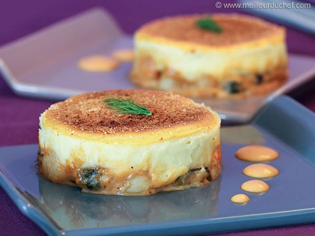 Seafood Parmentier