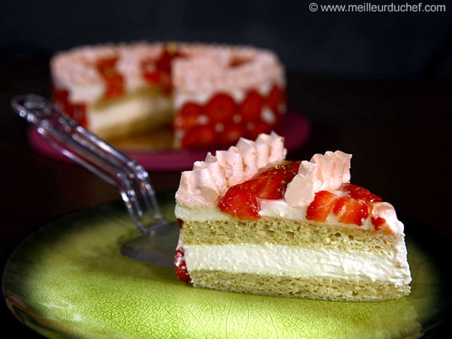 Strawberry & Fromage Blanc Delight