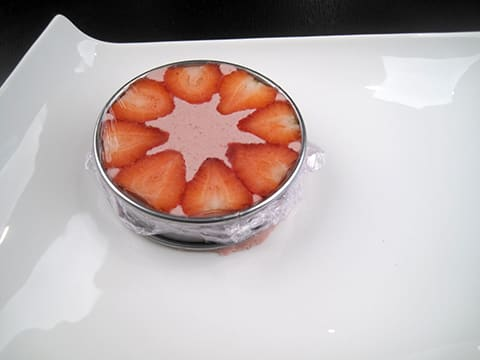 Strawberry Mousse with Chantilly Cream - 21