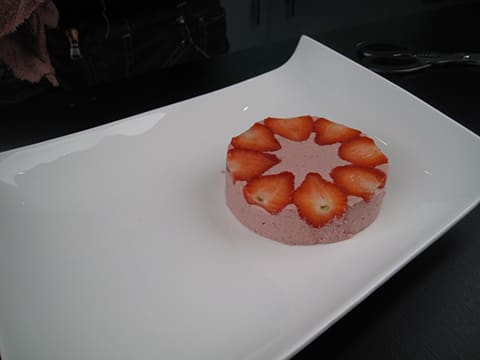 Strawberry Mousse with Chantilly Cream - 23