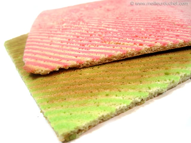 Joconde Striped Biscuit