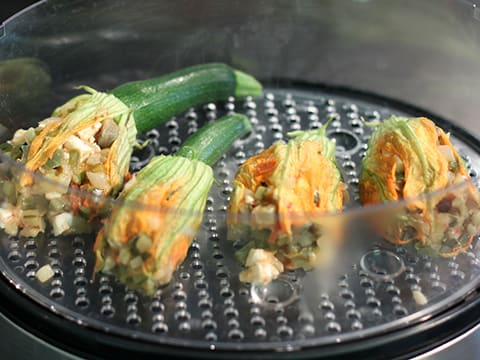 Stuffed Courgette Flowers - 17