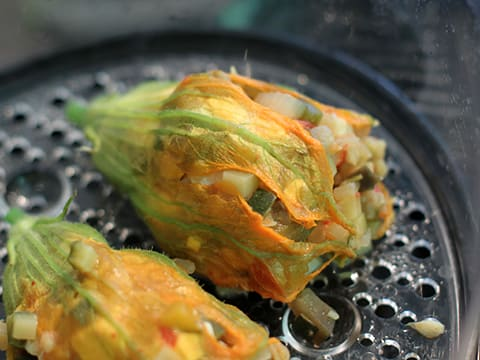 Stuffed Courgette Flowers - 21