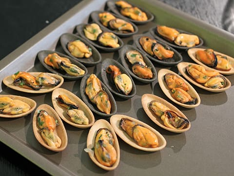 Stuffed Mussels - 15