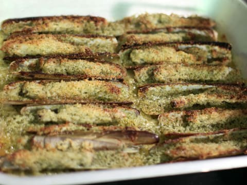 Stuffed Razor Clams with Flavoured Butter - 19