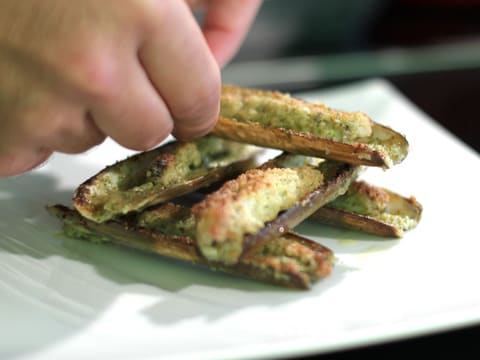Stuffed Razor Clams with Flavoured Butter - 20