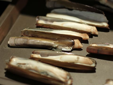 Stuffed Razor Clams with Flavoured Butter - 4