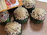 Stuffed Round Courgettes - 14