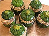 Stuffed Round Courgettes - 15