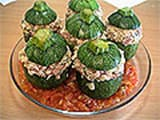 Stuffed Round Courgettes - 16