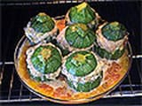 Stuffed Round Courgettes - 18