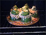 Stuffed Round Courgettes - 20