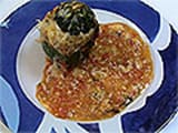 Stuffed Round Courgettes - 21