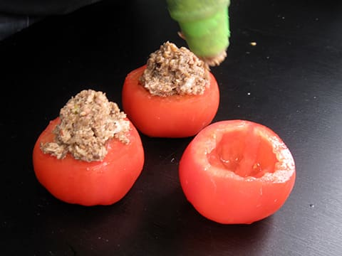 Stuffed Tomatoes with Oyster Mushrooms - 16