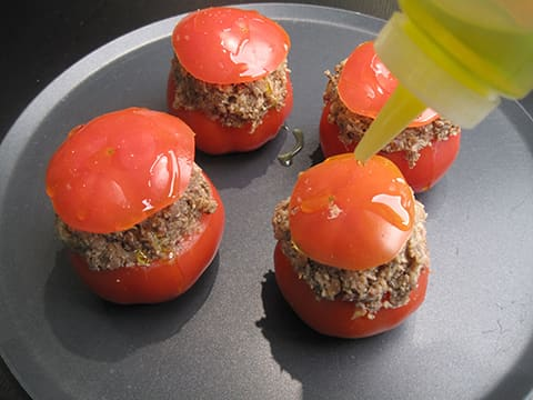 Stuffed Tomatoes with Oyster Mushrooms - 18