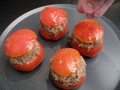 Stuffed Tomatoes with Oyster Mushrooms - 19