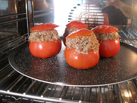 Stuffed Tomatoes with Oyster Mushrooms - 20