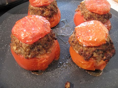 Stuffed Tomatoes with Oyster Mushrooms - 22